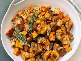 roasted sweet potato recipes.  Sweet Roasted Sweet Potatoes And Apples To Potato Recipes D