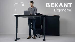ikea office furniture ideas. BEKANT Standing Desk By IKEA \u2013 Ergonomic Office Furniture Design Ideas Ikea