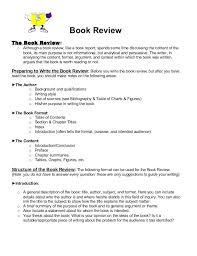 how to write book reviews sample book review format college  how