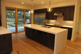 Island Kitchen Waterfall Edge Kitchen Island Best Kitchen Island 2017