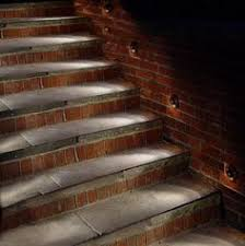 outdoor stairway lighting. 27 Attractive Outdoor Steps Lighting Designs - Like The Lights On Side Rather Than Risers (Patio Step Lighting) Stairway