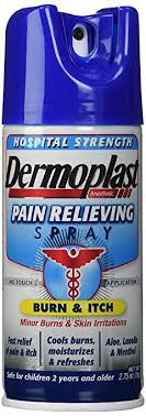 pain relief spray for stitches