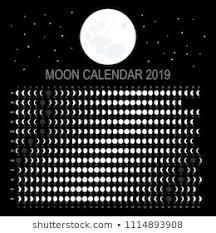 Moon Chart Calendar 2019 1000 Lunar Calendar Stock Images Photos Vectors