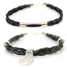 braided horse hair bracelets