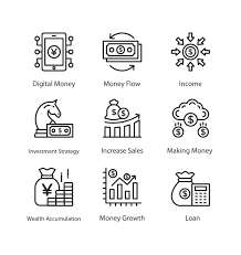 Finance Icon Vector Set For Free Download Frebers