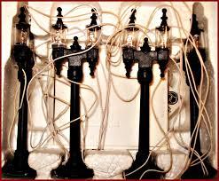 Miniature Village Street Lights Dept 56 Double Street Lamps 59960 Christmas Street Lamp