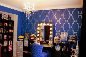 vanity makeup room tour new