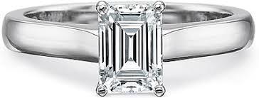 Precision Set Flush Fit Solitaire Diamond Engagement Ring 7219