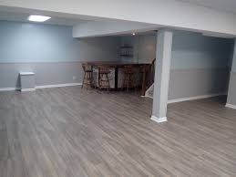 grey walls with wood floors frost grey