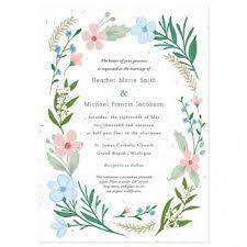 Plantable Wedding Invitations Catalog Botanical Paperworks