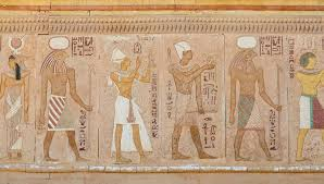 ancient egyptian wall paintings stock photo image of africa hieroglyphic 61643610