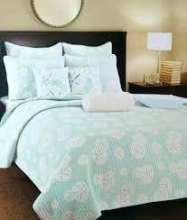 C Natural Shells Quilt Set C F Nantucket Dream Nautical Bedding ... & Coastal Bedroom Quilts Sand Dollar Quilt Set Coastal Bedding Aqua Turquoise  White Coastal Bedding Quilts Coastal Adamdwight.com