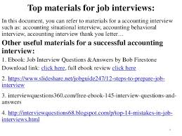 115 Accounting Interview Questions And Answers Pdf Ebook