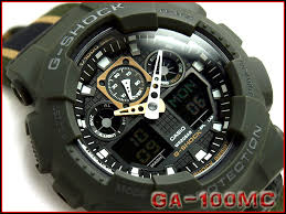 g supply rakuten global market casio g shock military color casio g shock military color series an analog digital watch moss green yellow black