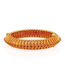 Latest South Indian Bangles Design 22 Kt Antique Gold South Indian Bangle Gold Bangles Gold