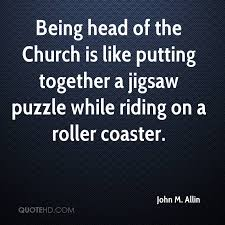 Jigsaw Quotes New John M Allin Quotes QuoteHD