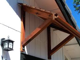 diy door awning if u want wood working plan ideas build