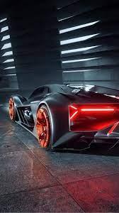 Lamborghini Terzo Millennio 4K Ultra HD ...