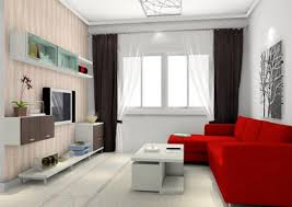Off White Curtains Living Room Furniture Accessories Beautiful Design Of Red Sofa In Living