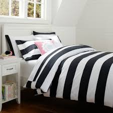 black and white striped comforter bed linen stunning black and white striped sheet set blue and