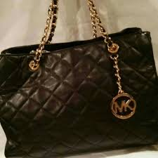 70% off MICHAEL Michael Kors Handbags - MK Savannah quilted medium ... & MK Savannah quilted medium leather tote Adamdwight.com
