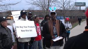 black workers matter protest ferrara candy at walmart black workers matter protest ferrara candy at walmart