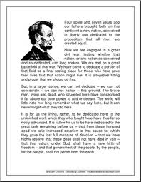 Presidency Chart Abraham Lincoln 16th Answers Speech Gettysburg Address Abraham Lincolns Famous