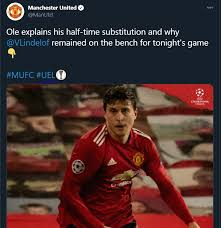 Manchester united are yet to get jadon sancho as their main target could be staying with dortmund. Photo Man United Social Media Team Europa League Hashtag