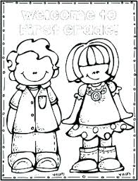 welcome to school coloring page back pages for s kindergarten