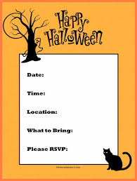 Blank Halloween Invitation Templates 6 Free Online Halloween Invitation Templates Andrew Gunsberg