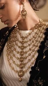 modern gold jewellery by azva in contemporary bridal style goldjewellery luxury style