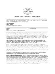Trailer Rental Agreement Template Trailer Rental Agreement 24 Free Templates in PDF Word Excel Download 1