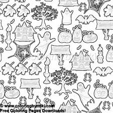 Halloween Spooky Coloring Page 1249 Ultimate Coloring Pages