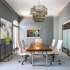 Contemporary Offices Interior Design Adorable Studio M Interior Design MidCentury Modern Office Design