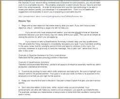 Employment History Template