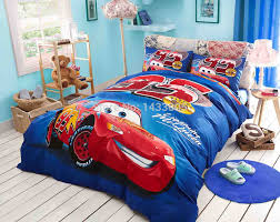 Lightning Mcqueen Bedroom Furniture Bed Spread Set Picture More Detailed Picture About Children Bed