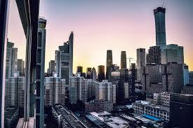 high rise buildings 4k wallpaper