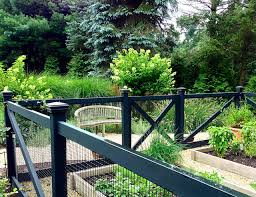 make your garden fences disappear with