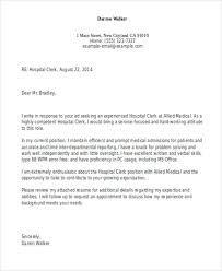Clerical Position Cover Letter Clerical Cover Letter 10 Free Word Pdf Format Download Free