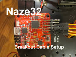 naze32 to receiver breakout cable setup