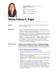 Tagalog Resume Format Resume Template Easy Http Www