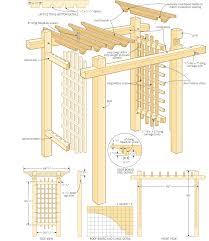 build a garden gateway pergola