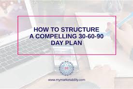 How To Structure A Compelling 30 60 90 Day Plan