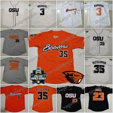 Oregon State Active Duty Pay Chart 2019 Oregon State Beavers Custom Any Name Any Number Cream Orange Stitched 2018 Cws Patch 35 Adley Rutschman Ncaa College Baseball Jerseys S 4xl From