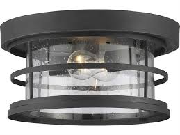 savoy house barrett black two light 13 wide outdoor ceiling light with seedy glass 5 369 13 bk