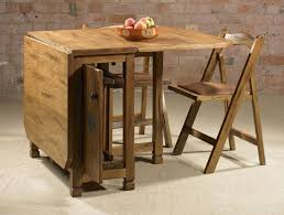 Table With Hidden Chairs Simple Ideas Folding Dining Table And Chairs Set Fascinating