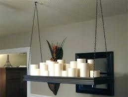 candle chandelier home holder rectangular diy pillar vintage ligh