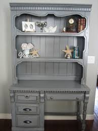 hand painted european hutch another beautiful piece refinished in storm cloud with light
