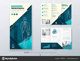 tri fold brochures tri fold brochure design teal dl corporate business template for