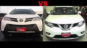 2015 Nissan Rogue VS 2015 Toyota RAV4 - YouTube